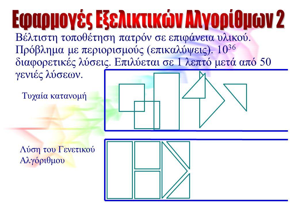 Εφαρμογές Εξελικτικών Αλγορίθμων 2