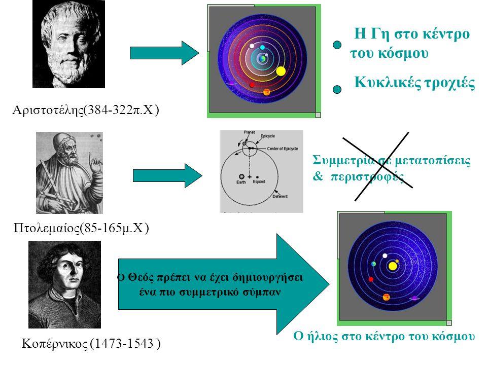 ένα πιο συμμετρικό σύμπαν