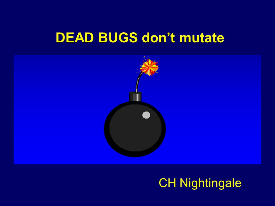 DEAD BUGS don't mutate CH Nightingale