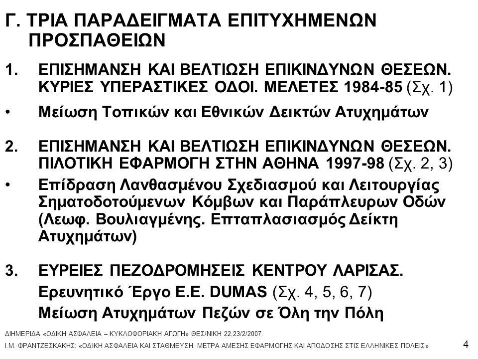 Γ. ΤΡΙΑ ΠΑΡΑΔΕΙΓΜΑΤΑ ΕΠΙΤΥΧΗΜΕΝΩΝ ΠΡΟΣΠΑΘΕΙΩΝ