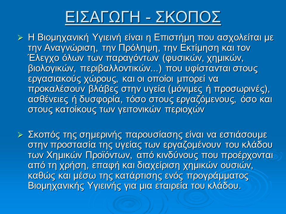 ΕΙΣΑΓΩΓΗ - ΣΚΟΠΟΣ