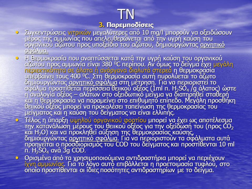 TN 3. Παρεμποδίσεις.