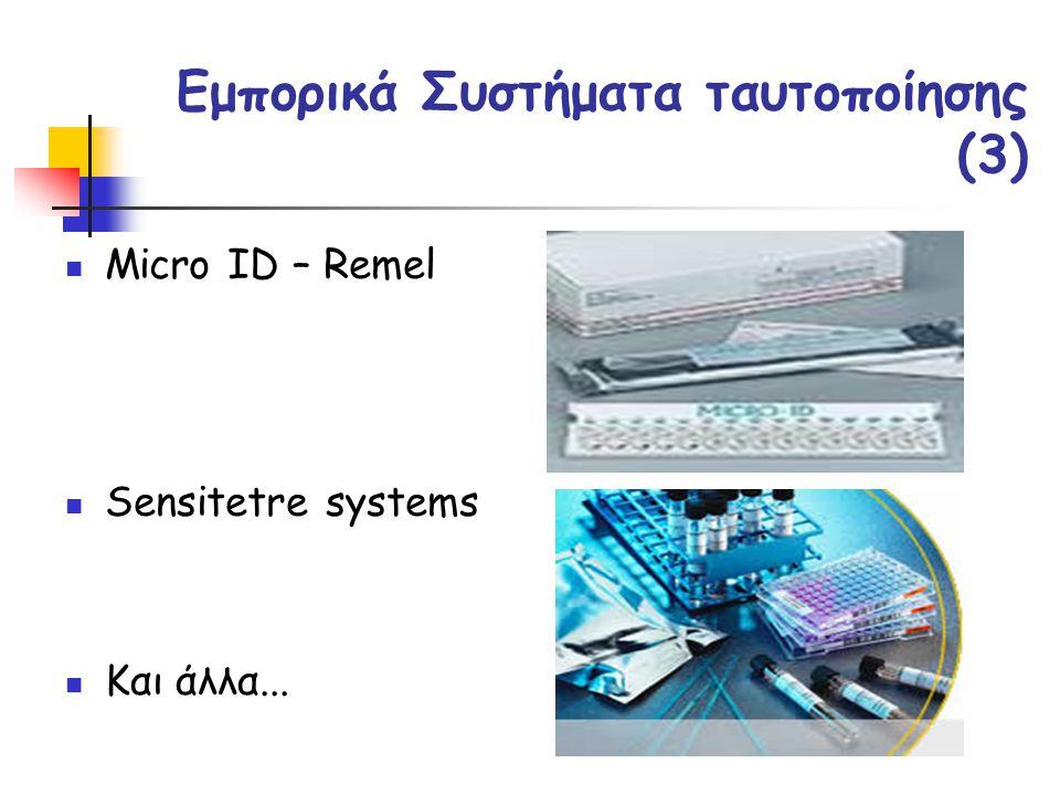 Εμπορικά Συστήματα ταυτοποίησης (3)