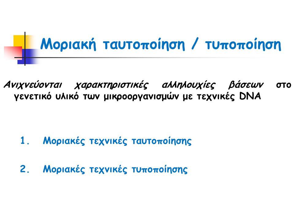 Μοριακή ταυτοποίηση / τυποποίηση