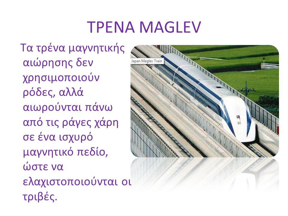ΤΡΕΝΑ MAGLEV