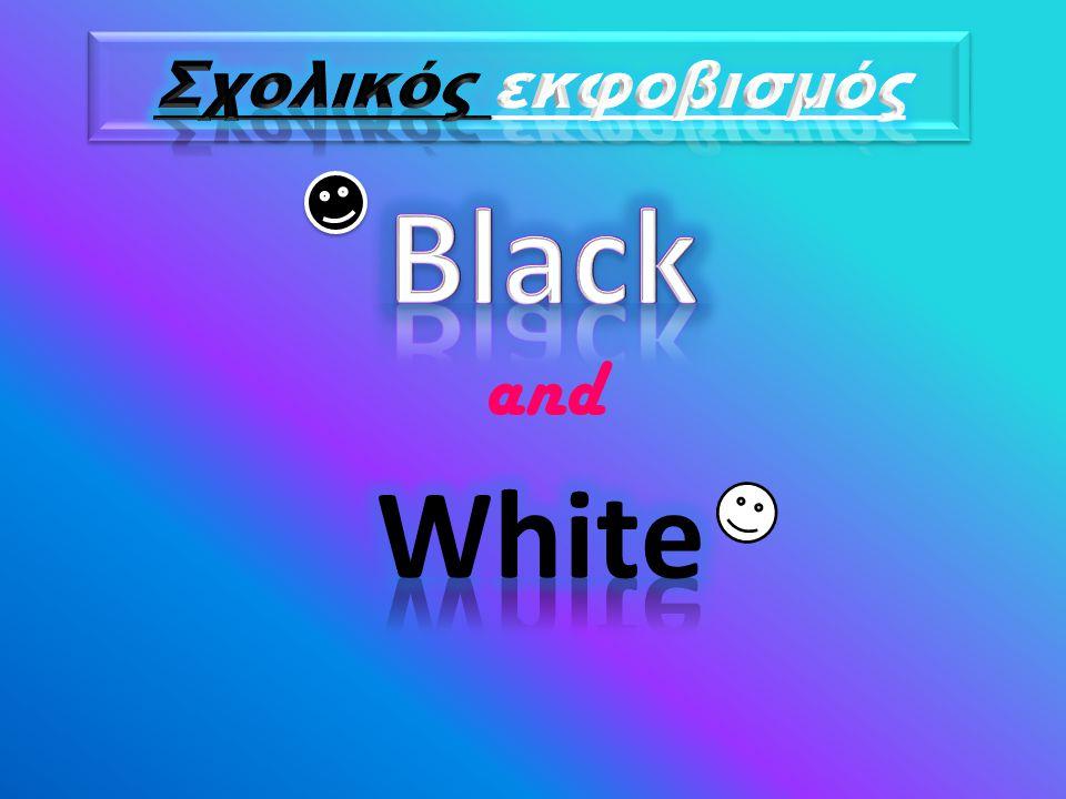 Σχολικός εκφοβισμός Black and White