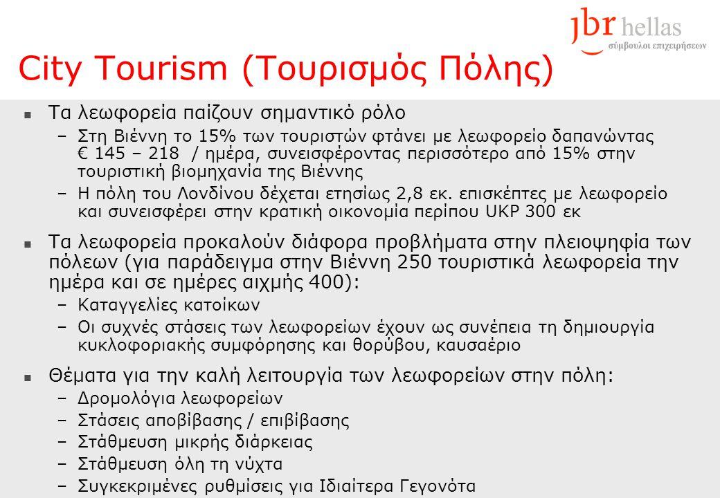 City Tourism (Τουρισμός Πόλης)