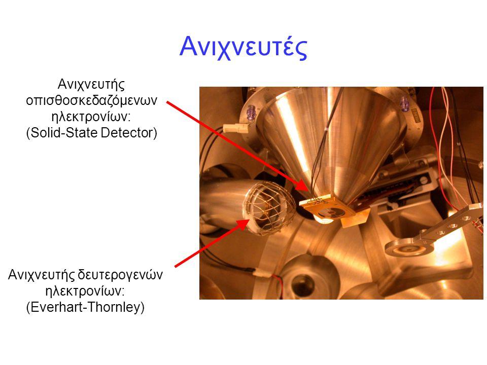 Ανιχνευτές Ανιχνευτής οπισθοσκεδαζόμενων ηλεκτρονίων: