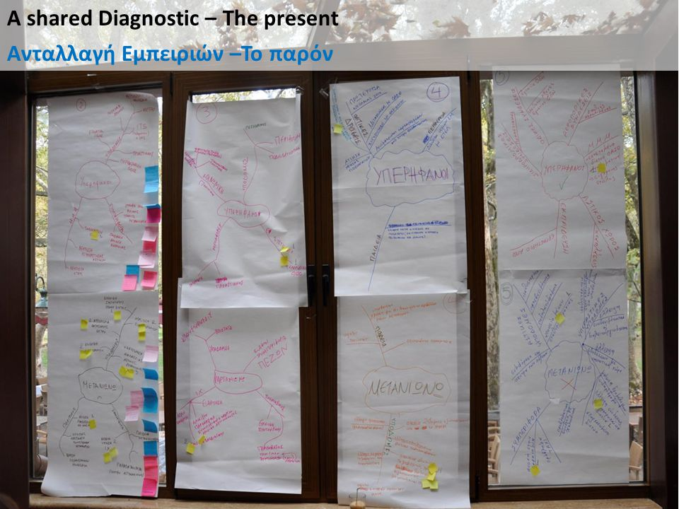 A shared Diagnostic – The present