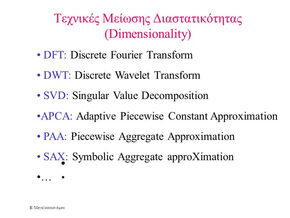 Τεχνικές Μείωσης Διαστατικότητας (Dimensionality)