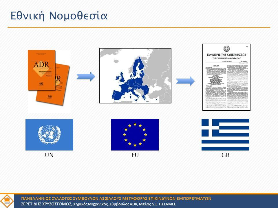 Εθνική Νομοθεσία UN EU GR