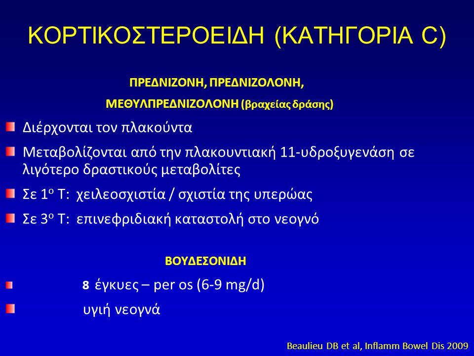ΚΟΡΤΙΚΟΣΤΕΡΟΕΙΔΗ (ΚΑΤΗΓΟΡΙΑ C)