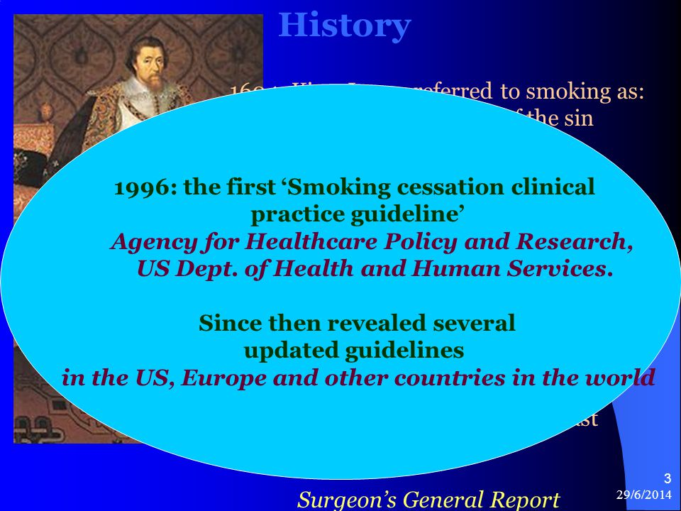 History 1604: King James referred to smoking as: