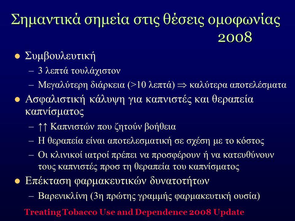 Σημαντικά σημεία στις θέσεις ομοφωνίας 2008