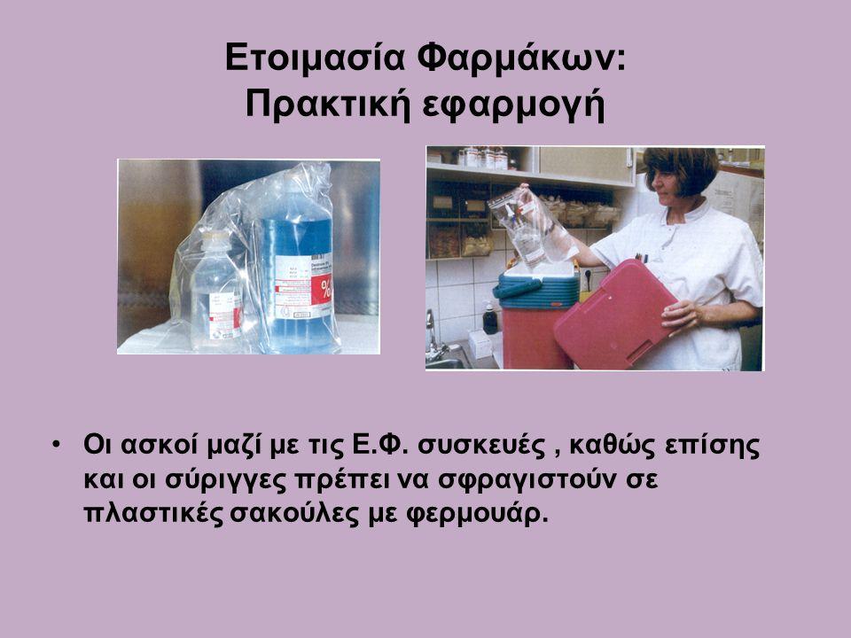Ετοιμασία Φαρμάκων: Πρακτική εφαρμογή