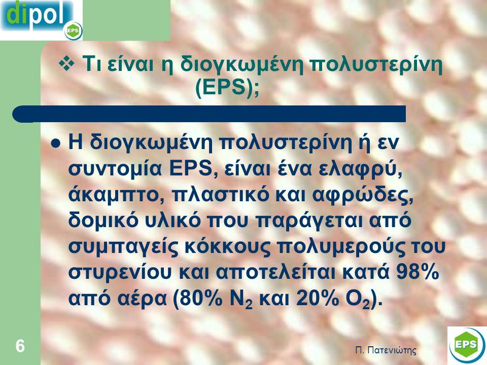 Τι είναι η διογκωμένη πολυστερίνη (EPS);