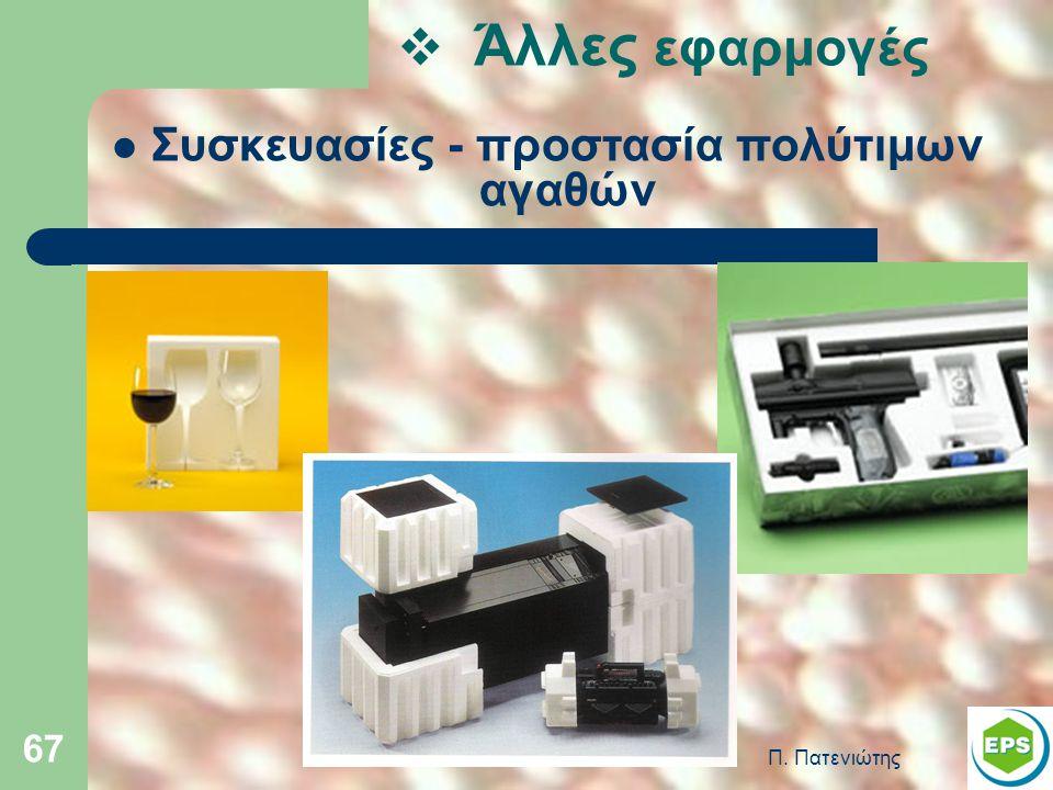 Συσκευασίες - προστασία πολύτιμων αγαθών