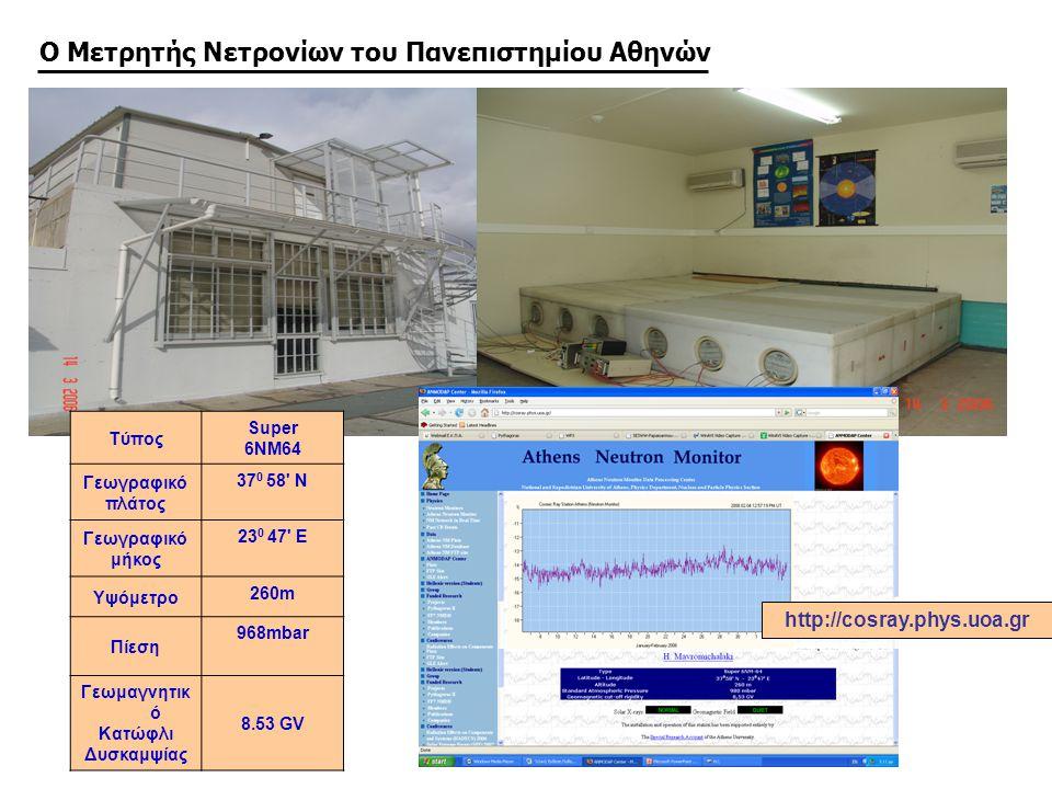 Ο Μετρητής Νετρονίων του Πανεπιστημίου Αθηνών