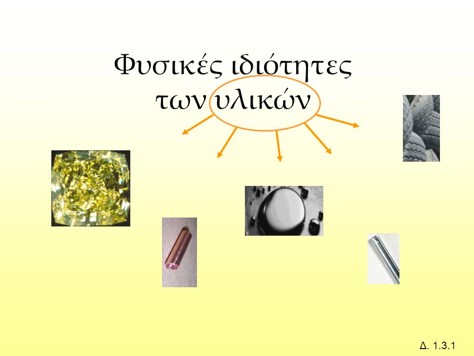 Φυσικές ιδιότητες των υλικών