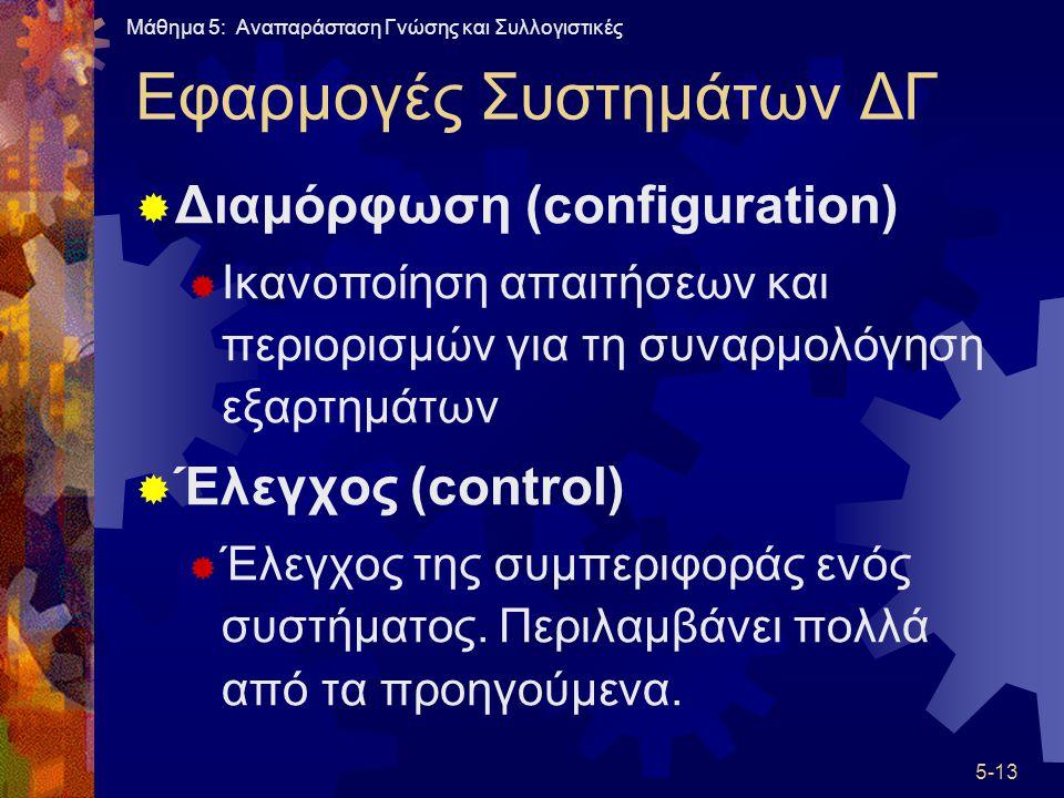 Εφαρμογές Συστημάτων ΔΓ