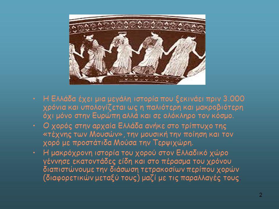 Η Ελλάδα έχει μια μεγάλη ιστορία που ξεκινάει πριν 3