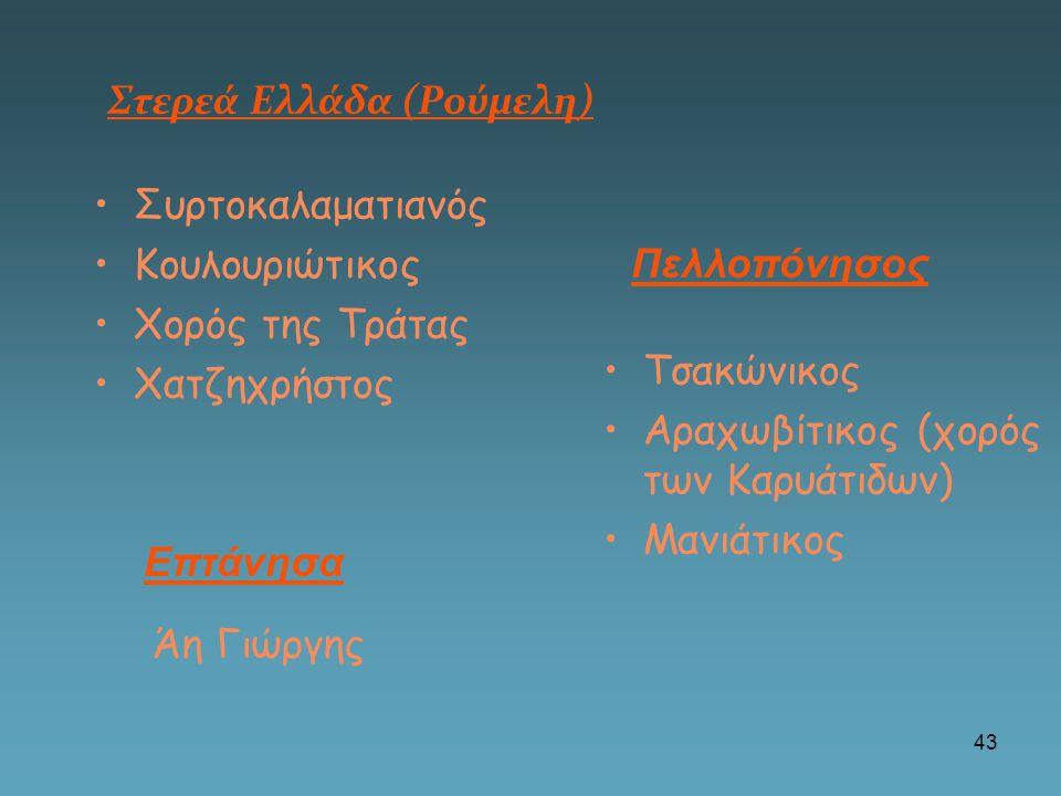 Στερεά Ελλάδα (Ρούμελη)