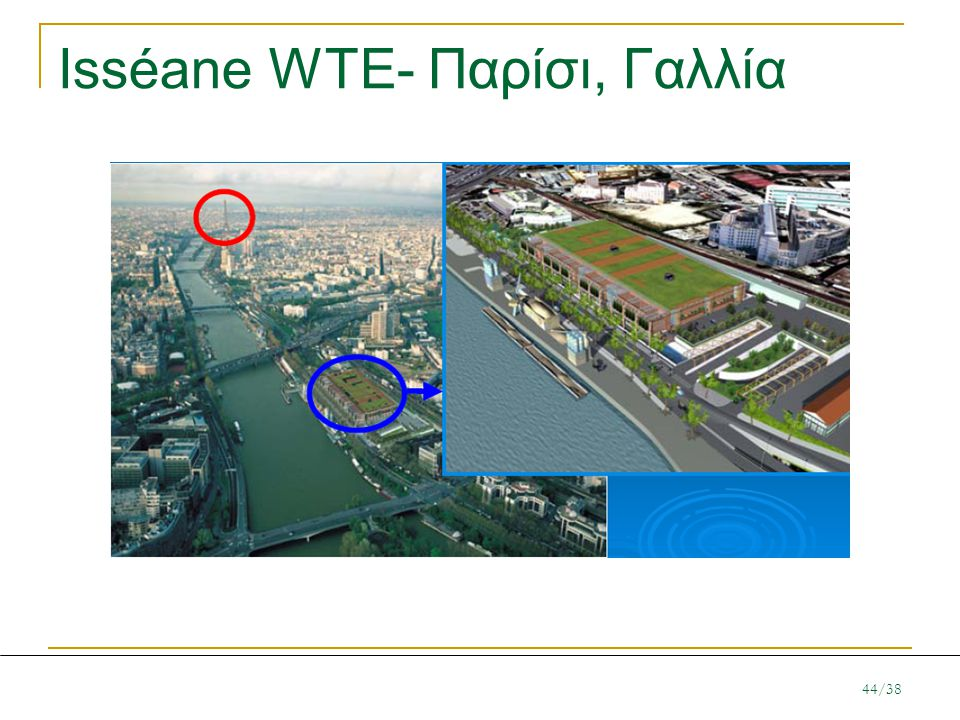 Isséane WTE- Παρίσι, Γαλλία