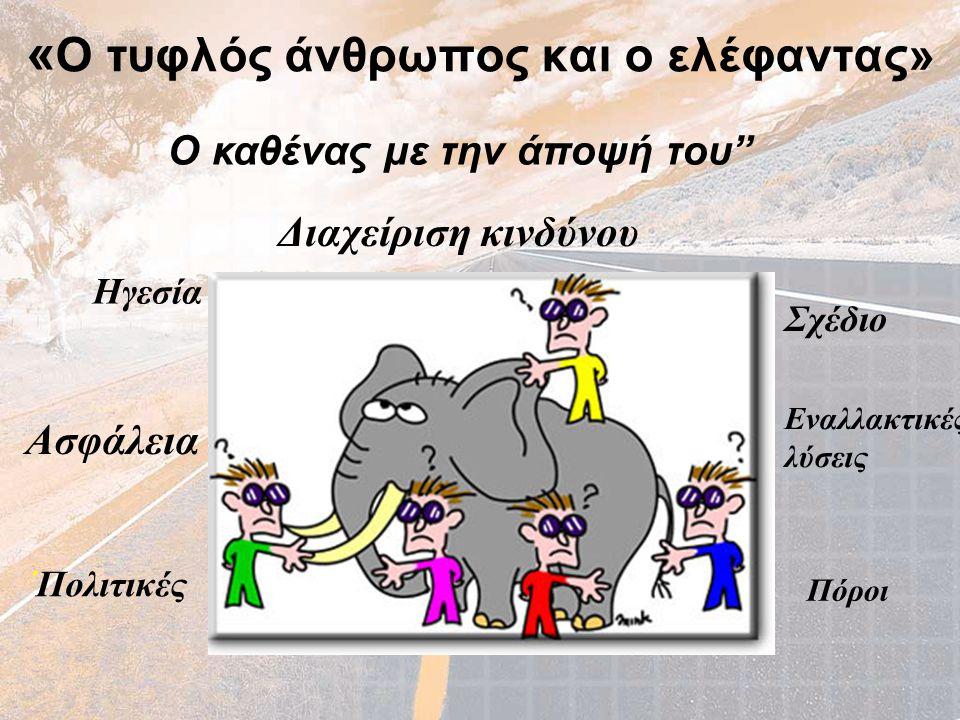 «Ο τυφλός άνθρωπος και ο ελέφαντας»