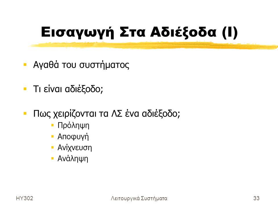 Εισαγωγή Στα Αδιέξοδα (Ι)