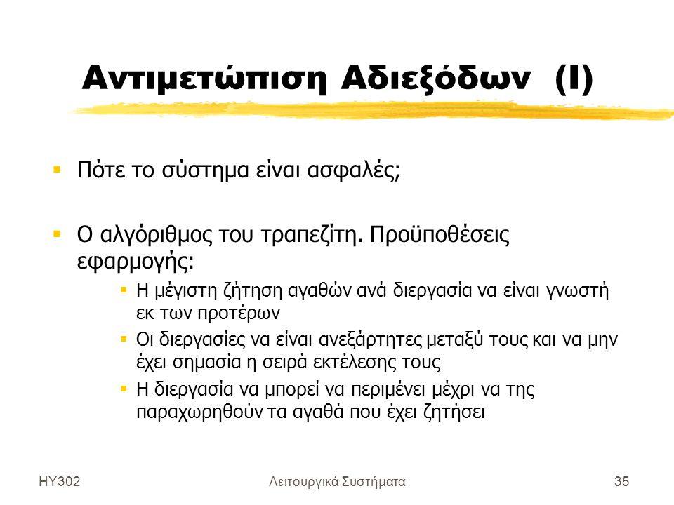 Αντιμετώπιση Αδιεξόδων (Ι)