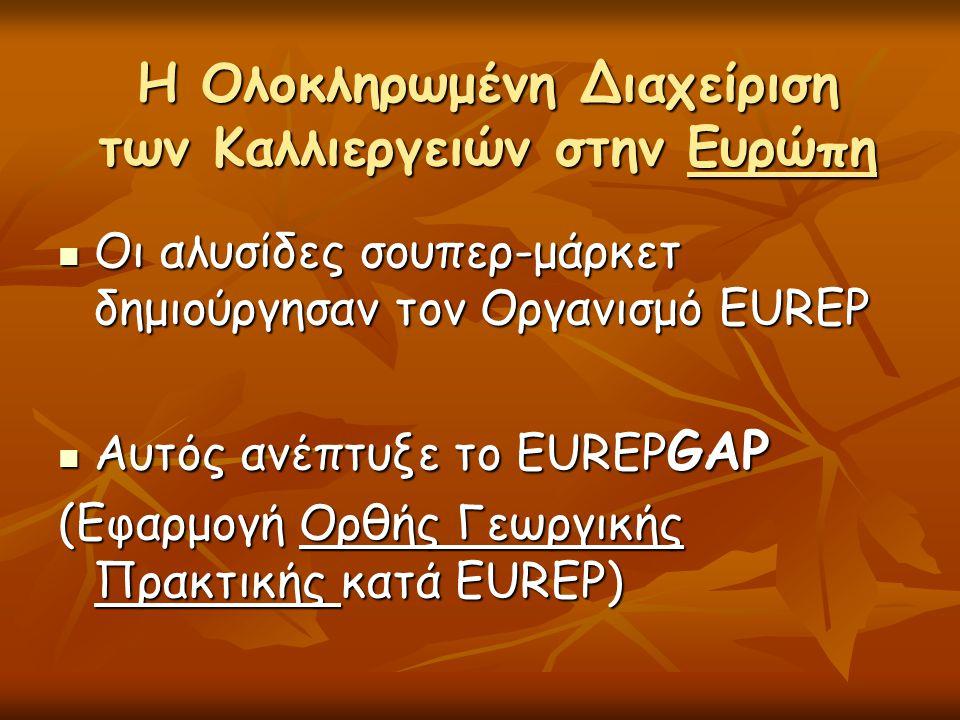 Η Ολοκληρωμένη Διαχείριση των Καλλιεργειών στην Ευρώπη