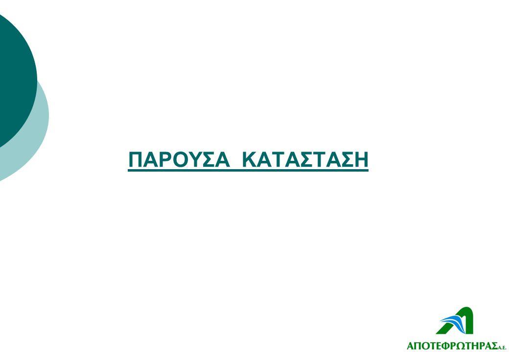 ΠΑΡΟΥΣΑ ΚΑΤΑΣΤΑΣΗ