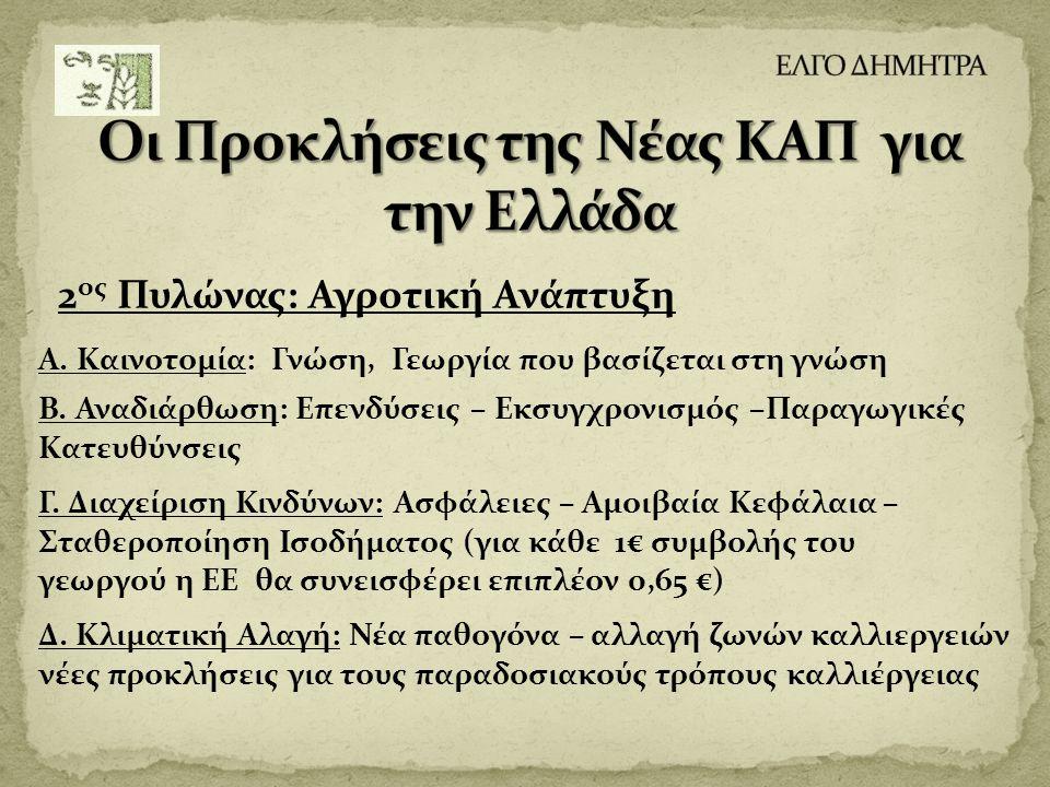 Οι Προκλήσεις της Νέας ΚΑΠ για την Ελλάδα