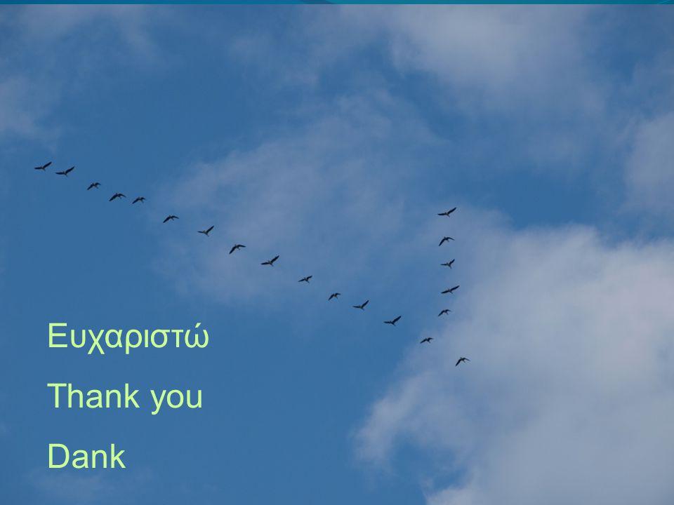 Ευχαριστώ Thank you Dank