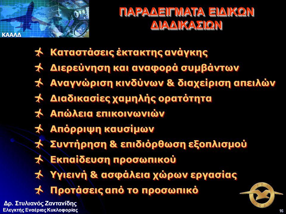 ΠΑΡΑΔΕΙΓΜΑΤΑ ΕΙΔΙΚΩΝ ΔΙΑΔΙΚΑΣΙΩΝ