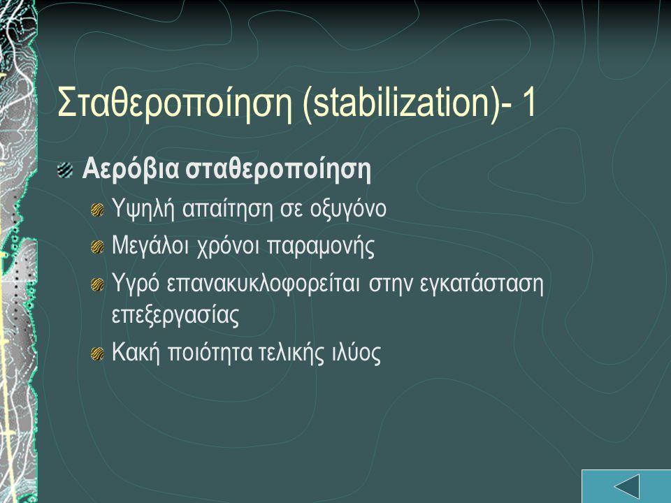 Σταθεροποίηση (stabilization)- 1