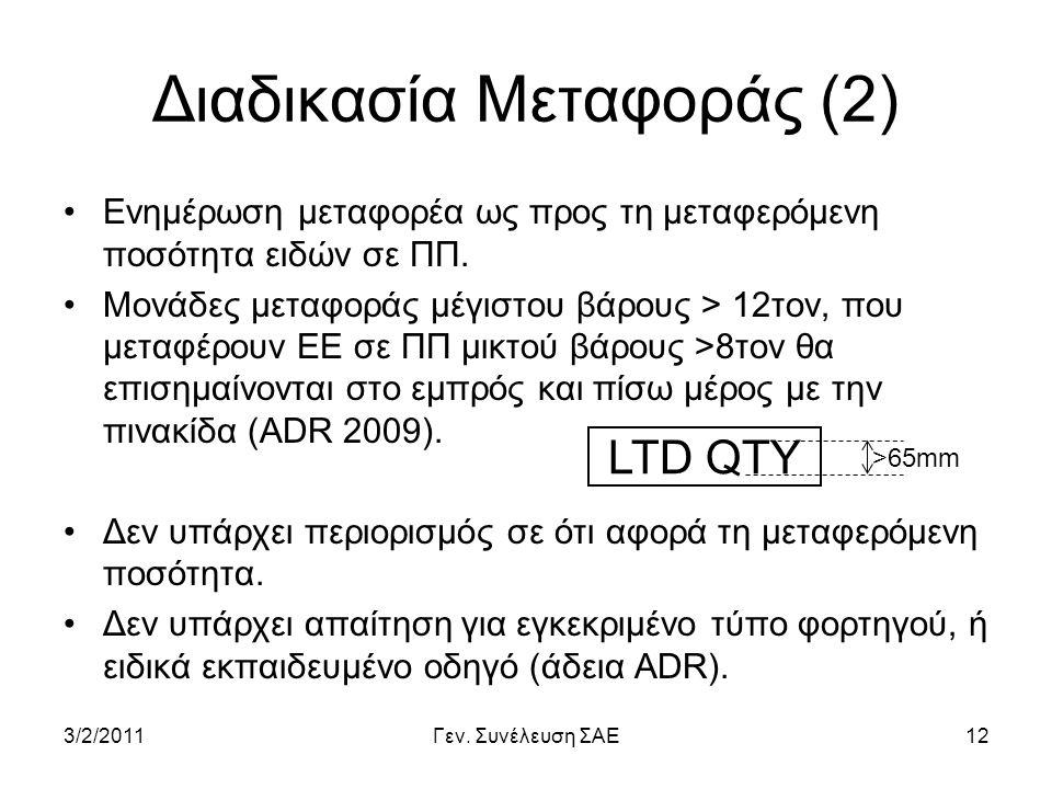 Διαδικασία Μεταφοράς (2)