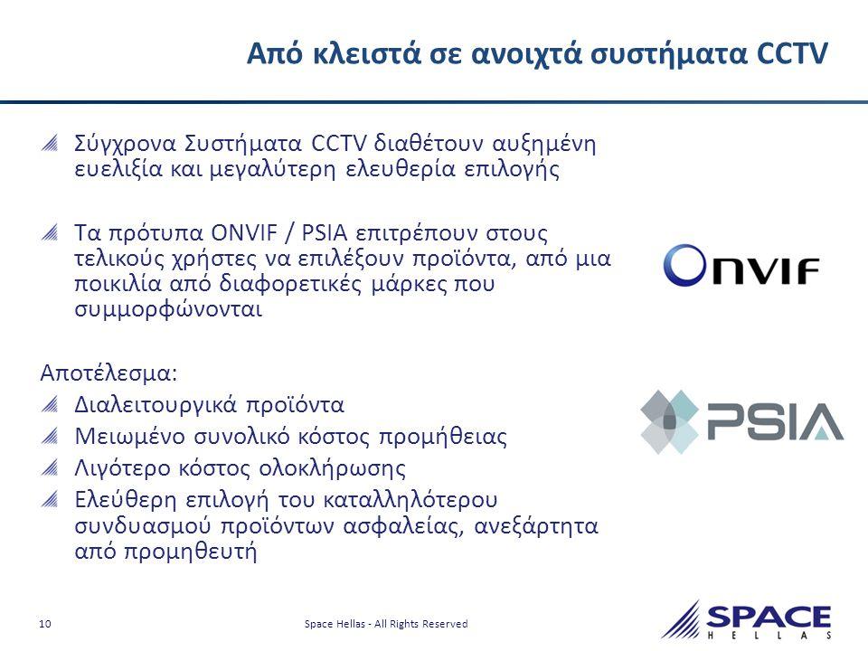 Από κλειστά σε ανοιχτά συστήματα CCTV