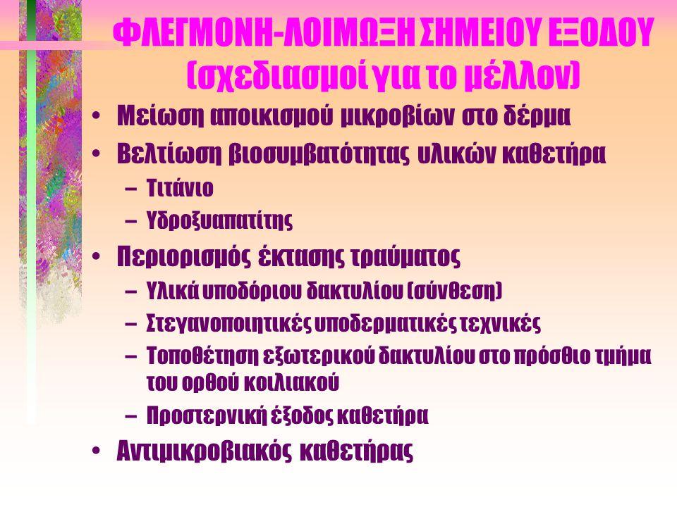 ΦΛΕΓΜΟΝΗ-ΛΟΙΜΩΞΗ ΣΗΜΕΙΟΥ ΕΞΟΔΟΥ (σχεδιασμοί για το μέλλον)