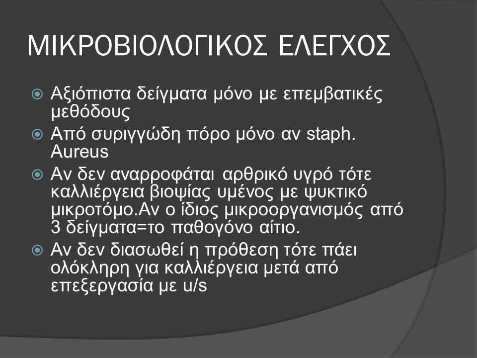 ΜΙΚΡΟΒΙΟΛΟΓΙΚΟΣ ΕΛΕΓΧΟΣ