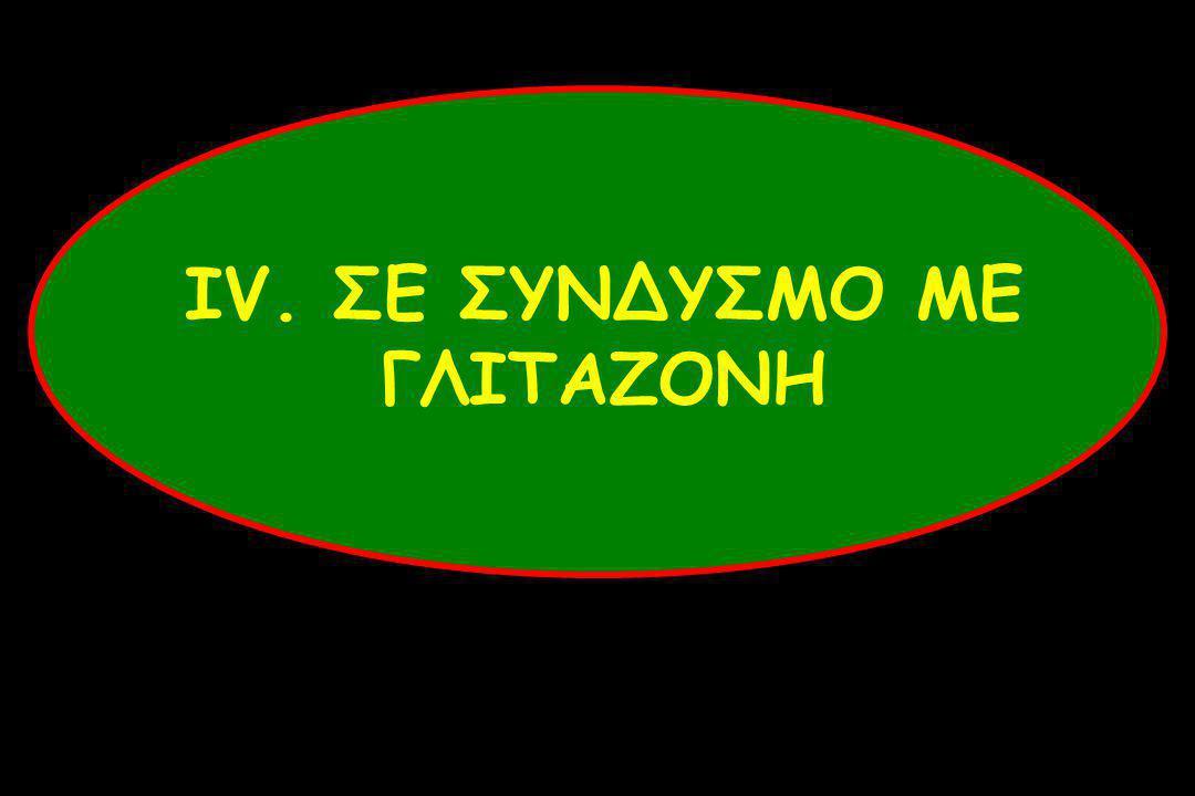 ΙV. ΣΕ ΣΥΝΔΥΣΜΟ ΜΕ ΓΛΙΤΑΖΟΝΗ