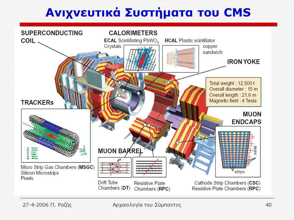 Ανιχνευτικά Συστήματα του CMS