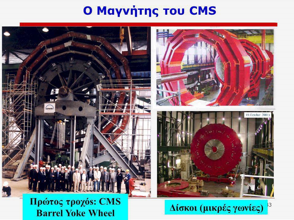 Πρώτος τροχόs: CMS Barrel Yoke Wheel