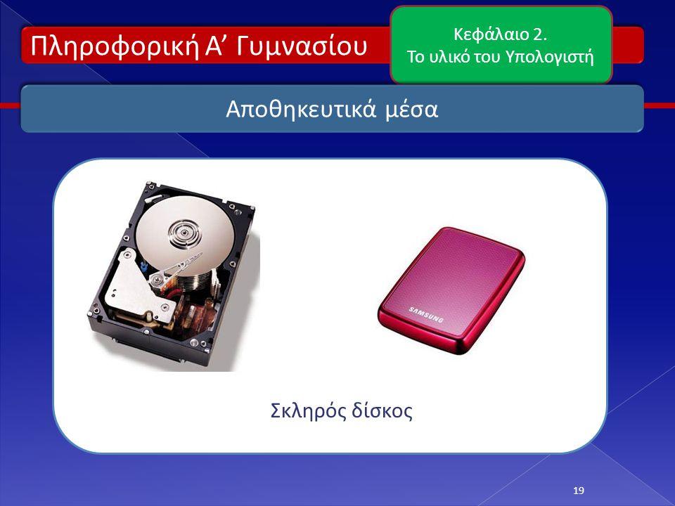 Το υλικό του Υπολογιστή