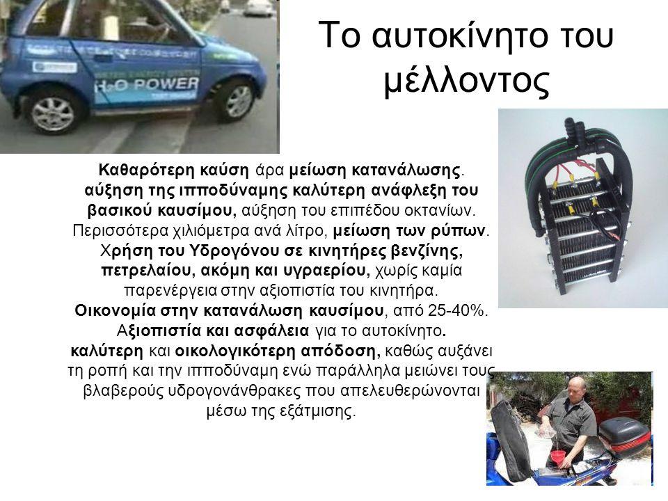 Το αυτοκίνητο του μέλλοντος