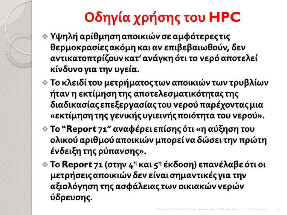 Οδηγία χρήσης του HPC