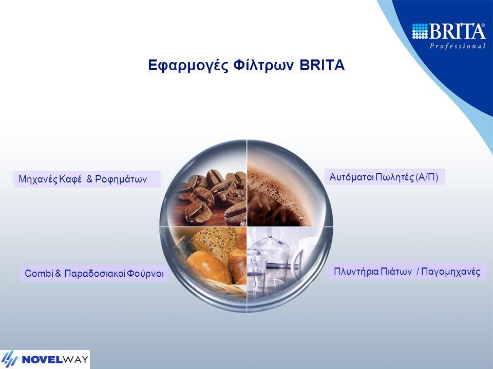 Εφαρμογές Φίλτρων BRITA