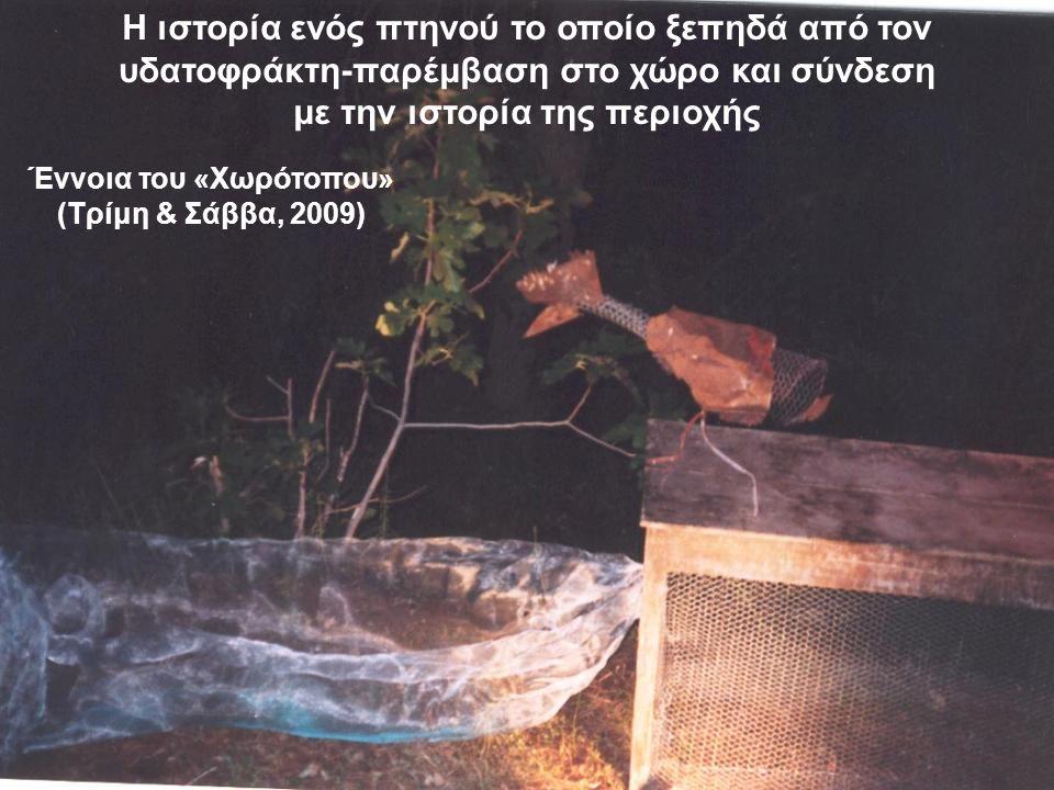 Έννοια του «Χωρότοπου» (Τρίμη & Σάββα, 2009)