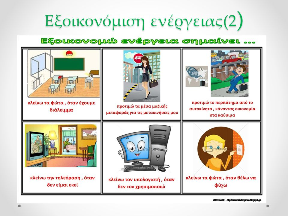 Εξοικονόμιση ενέργειας(2)