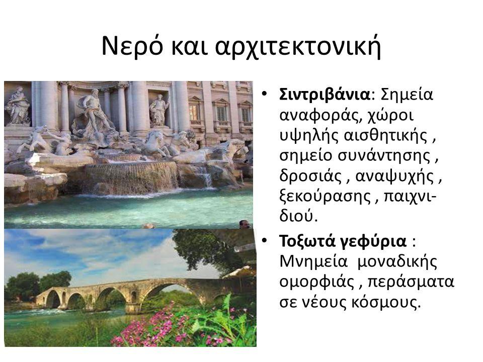 Νερό και αρχιτεκτονική